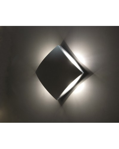 Elstead Lighting Pilo 11W LED Outdoor Light In Graphite Finish (Wall or Ceiling)