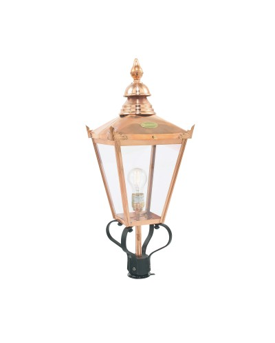 Elstead Lighting Norlys Chelsea 1 Light Outdoor LANTERN HEAD ONLY In Copper and Black Finish