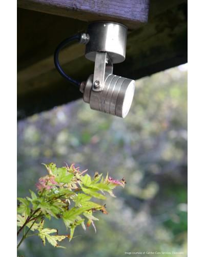 Garden Zone - Elite LED Outdoor Multi Directional Spot Light In Anodised Aluminium