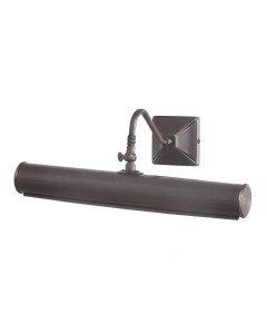 Elstead Lighting Picture Light Medium 2 Light In Dark Bronze Finish (360mm)