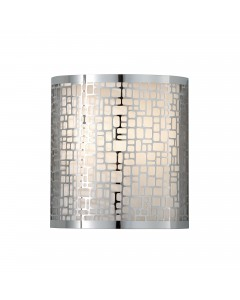 Feiss Joplin 1 Light Wall Light In Chrome Finish
