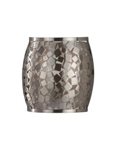 Feiss Zara 1 Light Wall Light In Brushed Steel Finish