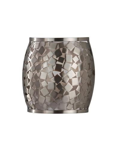 Feiss Zara 1 Light Wall Light In Brushed Steel Finish