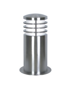 Garden Zone - Sandbanks 1 Light Outdoor Mini Bollard In Marine Grade Stainless Steel