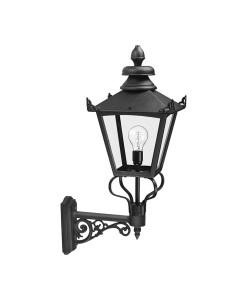 Elstead Lighting Grampian 1 Light Outdoor Large Wall Lantern In Black Finish