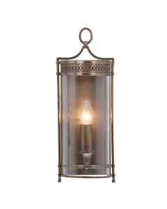Elstead Lighting Guildhall 1 Light Wall Light In Dark Bronze Finish