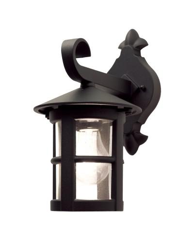 Elstead Lighting Hereford 1 Light Outdoor Downward Wall Lantern In Black Finish
