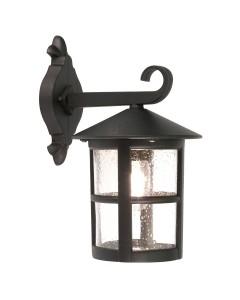 Elstead Lighting Hereford Grande 1 Light Outdoor Downward Wall Lantern In Black Finish