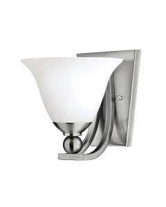 Hinkley Bolla 1 Light Wall Light In Brushed Nickel Finish