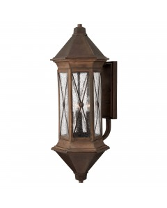Hinkley Brighton 4 Light Outdoor Extra-Large Wall Lantern In Sienna Finish