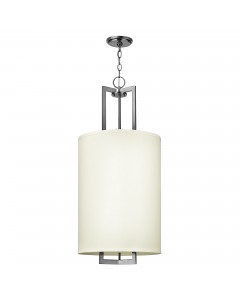 Elstead Lighting Hinkley Hampton 3 Light Pendant In Antique Nickel Finish