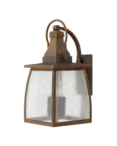 Elstead Lighting Hinkley Montauk 4 Light Outdoor Large Wall Lantern In Sienna Finish