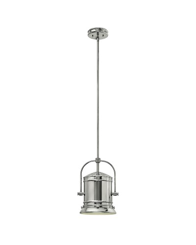 Elstead Lighting Hinkley Pullman 1 Light Pendant In Chrome Finish With 3 Height Adjustable Rods