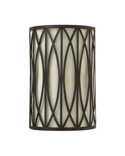 Elstead Lighting Hinkley Walden 2 Light Wall Light In Victorian Bronze Finish