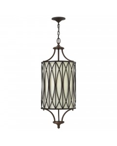 Elstead Lighting Hinkley Walden 3 Light Pendant In Victorian Bronze Finish