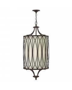 Elstead Lighting Hinkley Walden 4 Light Large Pendant In Victorian Bronze Finish