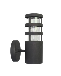 Elstead Lighting Hornbaek 1 Light Outdoor Wall Lantern In Matt Black Finish