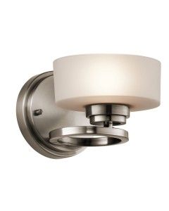 Elstead Lighting Kichler Aleeka 1 Light Wall Light In Classic Pewter Finish