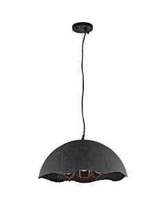 Elstead Lighting Kichler Fracture 3 Light Medium Pendant In Weathered Zinc Finish With Height Adjustable Cord