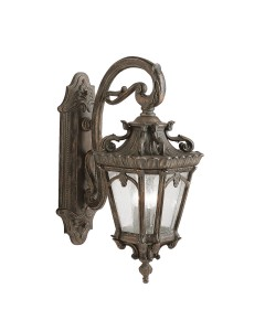 Elstead Lighting Kichler Tournai 3 Light Outdoor Extra Large Wall Lantern In Londonderry Finish