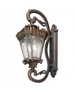 Elstead Lighting Kichler Tournai 4 Light Outdoor Grand Extra Large Wall Lantern In Londonderry Finish