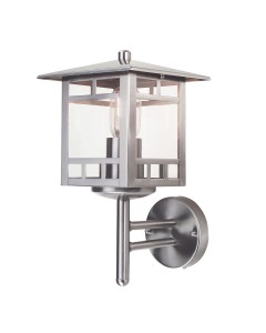 Elstead Lighting Kolne 1 Light Outdoor Wall Lantern In Stainless Steel
