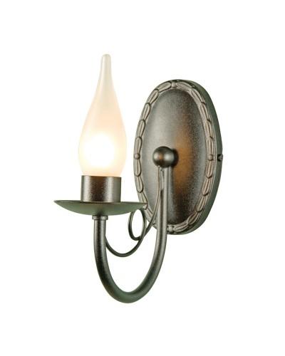 Elstead Lighting Minster 1 Light Bathroom Wall Light In Black Finish (IP44)