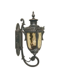Elstead Lighting Philadelphia 1 Light Outdoor Medium Up Wall Lantern In Old Bronze Finish
