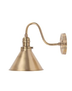 Elstead Lighting Provence 1 Light Wall Light In Aged Brass Finish