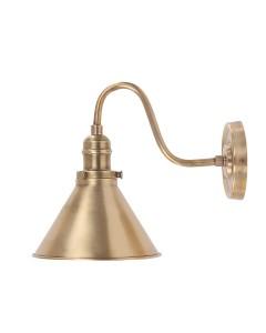 Elstead Lighting Provence 1 Light Wall Light In Aged Brass Finish