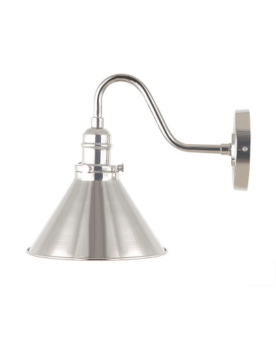 Elstead Lighting Provence 1 Light Wall Light In Polished Nickel Finish