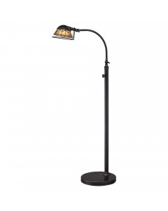 Elstead Lighting Quoizel 7W LED Whitney Floor Lamp In Imperial Bronze Finish