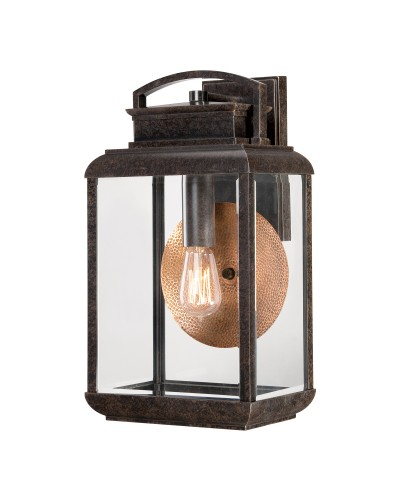 Elstead Lighting Quoizel Byron 1 Light Outdoor Large Wall Lantern In Imperial Bronze Finish