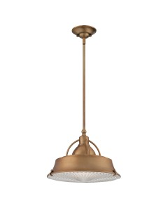 Elstead Lighting Quoizel Cody 2 Light Duo Mount Medium Pendant In Mystic Copper Finish With Height Adjustable Rods