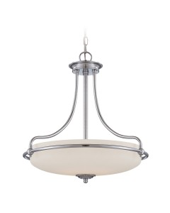 Elstead Lighting Quoizel Griffin 4 Light Pendant In Polished Chrome Finish