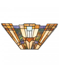 Quoizel Tiffany Inglenook 2 Light Wall Uplighter