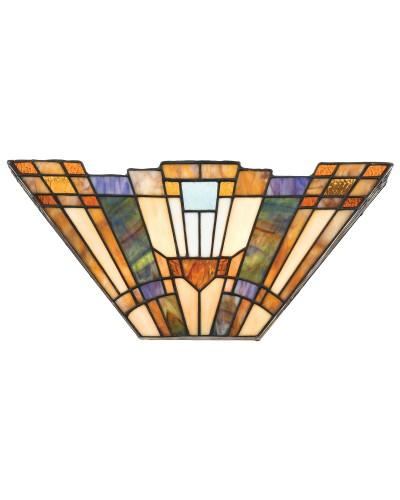 Quoizel Tiffany Inglenook 2 Light Wall Uplighter