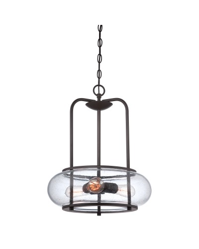Trilogy 3 light pendant in old bronze finish quoizel trilogy 3 light pendant in old bronze finish mozeypictures Image collections
