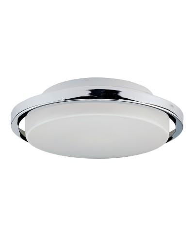 Elstead Lighting Ryde 7W LED Bathroom Flush Mounted Ceiling Light In Polished Chrome Finish (IP44)
