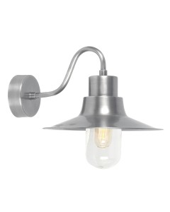 Elstead Lighting Sheldon 1 Light Solid Brass Outdoor Wall Lantern In Antique Nickel Finish