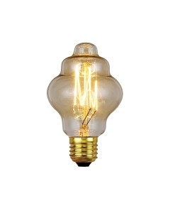 Elstead Lighting Vintage Style Filament Bulb: 60 Watt E27 Edison Screw; Retro Style
