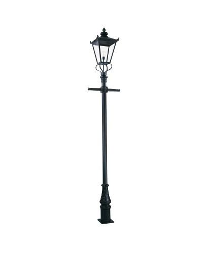 Elstead Lighting Wilmslow 1 Light Outdoor Large Lamp Post In Black Finish