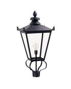 Elstead Lighting Wilmslow 1 Light Outdoor Large LANTERN HEAD ONLY In Black Finish