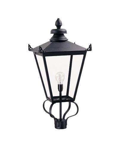 Elstead Lighting Wilmslow 1 Light Outdoor Large LANTERN HEAD ONLY In Black Finish