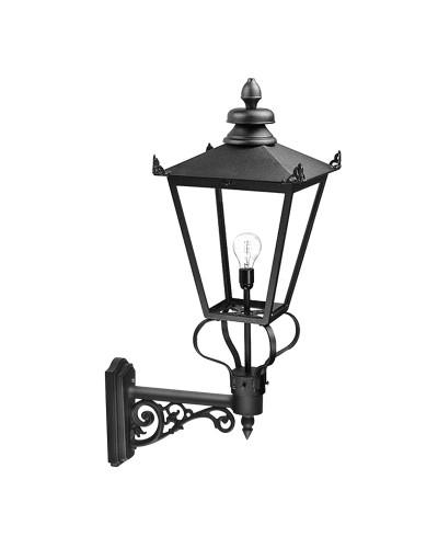 Elstead Lighting Wilmslow 1 Light Outdoor Large Wall Lantern In Black Finish