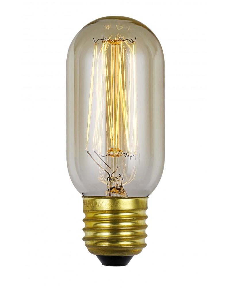 Elstead lighting vintage style filament bulb 60 watt e27 for 100 watt table lamps uk